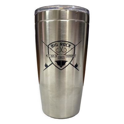 Big Rock Rod & Shield Stainless Steel Tumbler