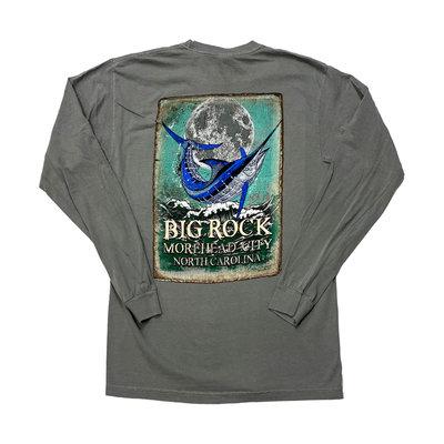 Big Rock Marlin Moon Long Sleeve T-Shirt