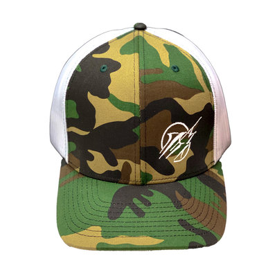 Richardson Streak Circle Dot Corner Camo Hat