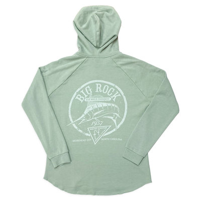 Big Rock Ladies Offset Circle Hoodie (2 Colors)