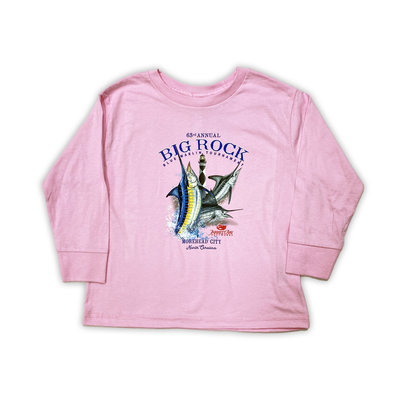 Big Rock Toddler 63rd Annual Long Sleeve T-Shirt (2 Colors)