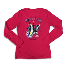 Big Rock Ladies 63rd Annual Long Sleeve V-Neck