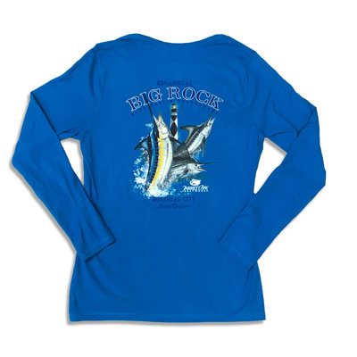 Big Rock Ladies 63rd Annual Long Sleeve V-Neck (3 Colors)