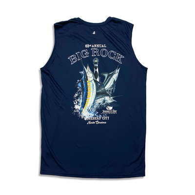 Big Rock 63rd Annual Sleeveless Performance Tee (2 Colors)