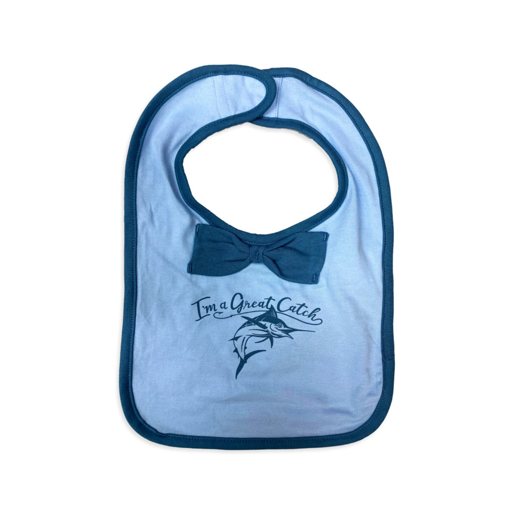 Big Rock Great Catch Bow Tie Bib