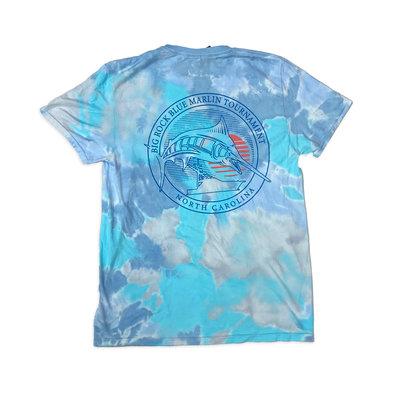 Big Rock Circle Sun Tie Dye T-Shirt (4 Colors)