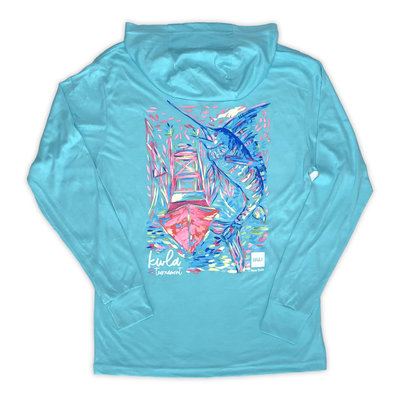 Big Rock Ladies 24th Annual KWLA TriBlend Hoodie