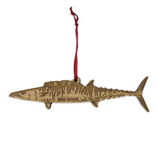 Big Rock Wooden Wahoo Ornament