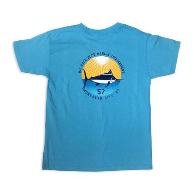 Big Rock Youth Sun Fish Short Sleeve T-Shirt (2 Colors)