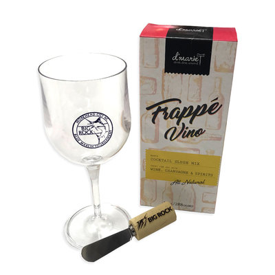 Big Rock Wine Mix + Collapsible Glass + Cheese Spreader