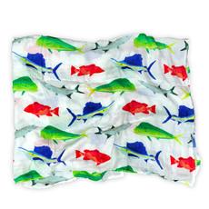 Big Rock Gamefish Swaddle Blanket