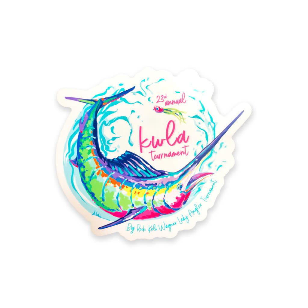 Big Rock 23rd Annual KWLA Sticker