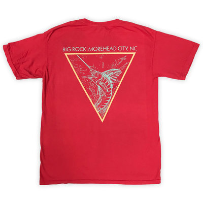 Big Rock BR Diamond Fish Short Sleeve T-Shirt (4 Colors)