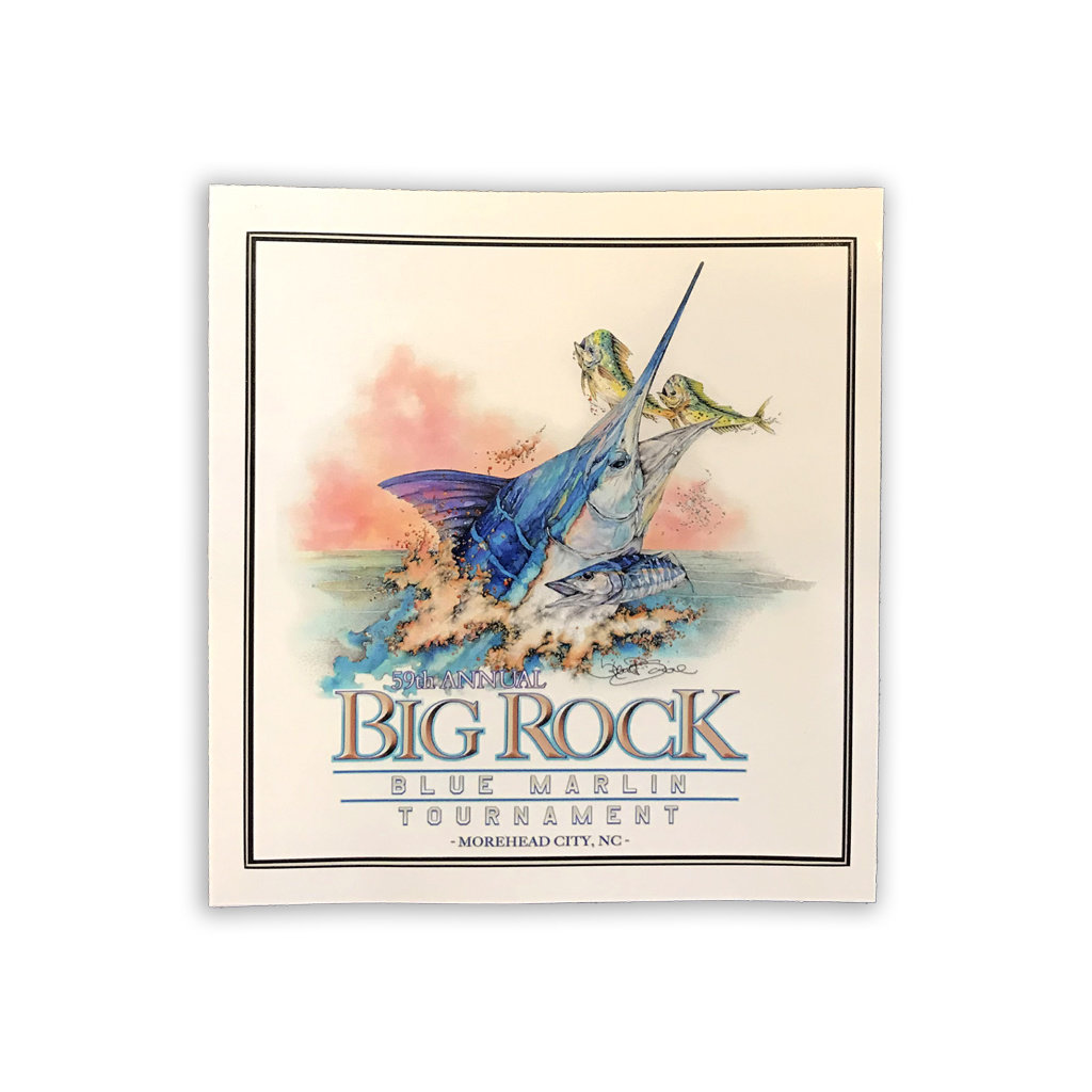 Big Rock 59th Annual Rectangle Sticker