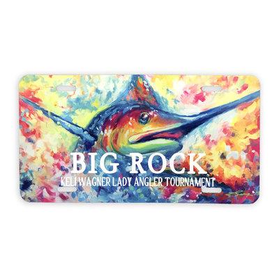 Big Rock KWLA License Plate