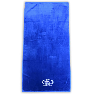 A to Z Towels Cobalt  Blue Cut Through Towel