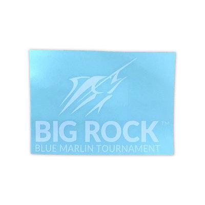 Big Rock White Streak Decal
