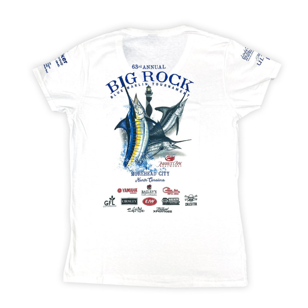 Big Rock Ladies 63rd Annual Short Sleeve V-Neck