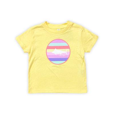 Big Rock Toddler Multi Stripe T-Shirt