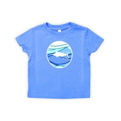 Big Rock Toddler Coastal Wave T-Shirt