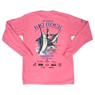 Big Rock 63rd Annual Long Sleeve T-Shirt No Pocket (3 Colors)