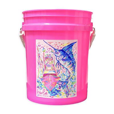 24th Annual KWLA Bucket (2 Colors)