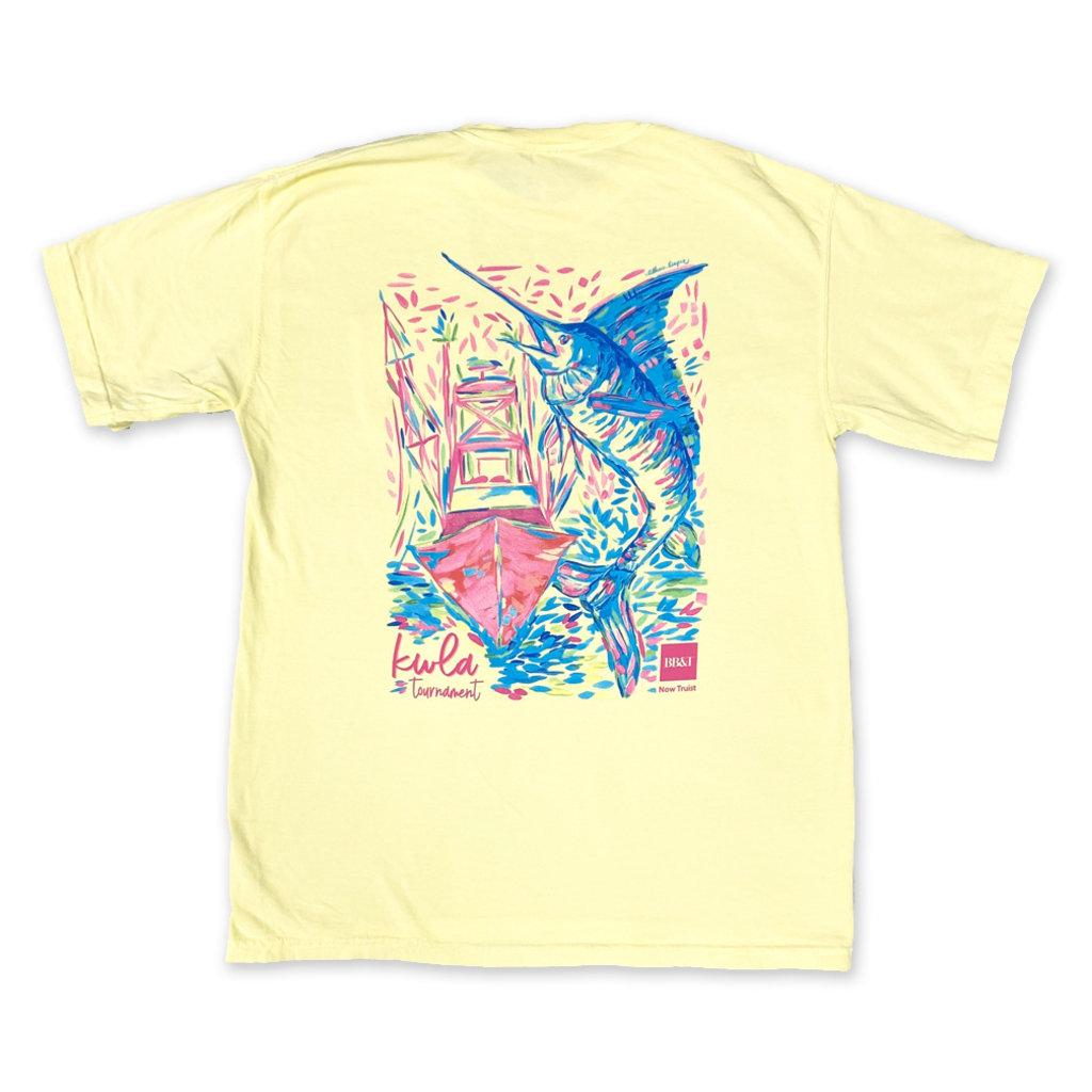 Big Rock Unisex 24th Annual KWLA Short Sleeve T-Shirt W/Pocket