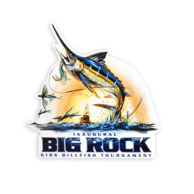 Big Rock Inaugural Big Rock Kid's Tournament Sticker