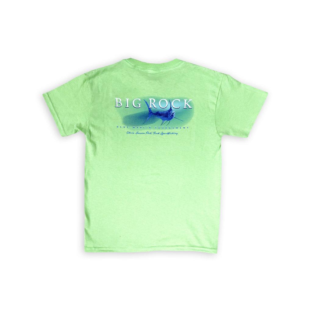 Big Rock Youth Trophy Marlin Short Sleeve T-Shirt