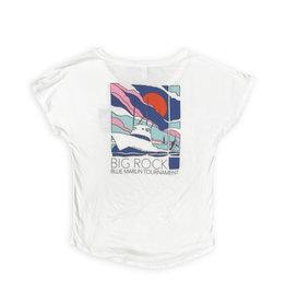 Big Rock Ladies Charter Short Sleeve Crew Neck T-Shirt