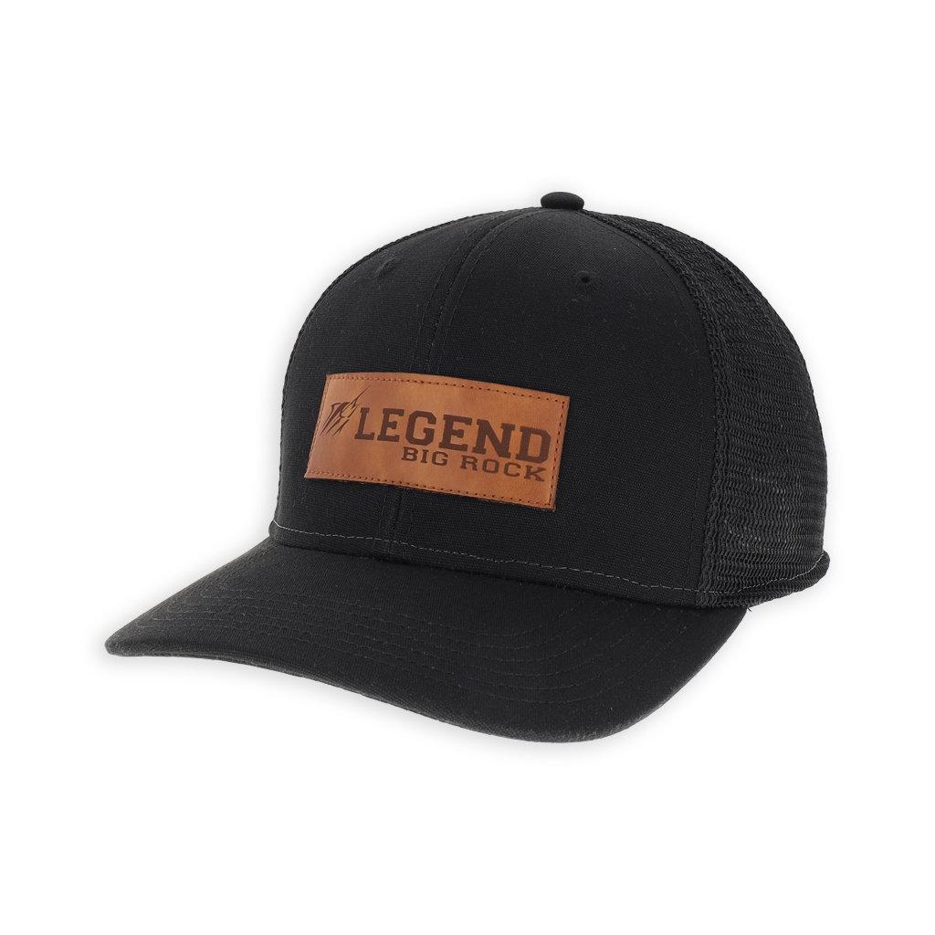 Big Rock Legend Leather Patch Trucker