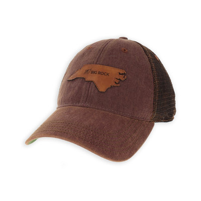 Big Rock Leather NC Patch Trucker (2 Colors)