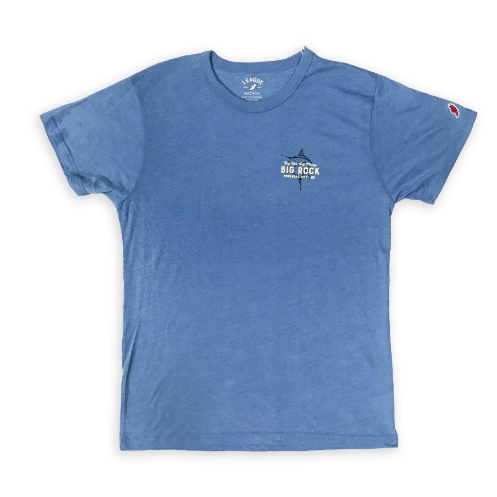 Big Rock Big Fish Big Money Tri-Blend T-shirt