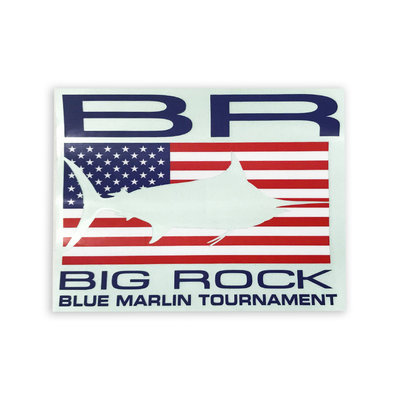 Big Rock USA Edge Decal