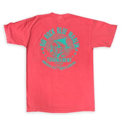 Big Rock Sketchy Marlin Short Sleeve T-Shirt (2 Colors)