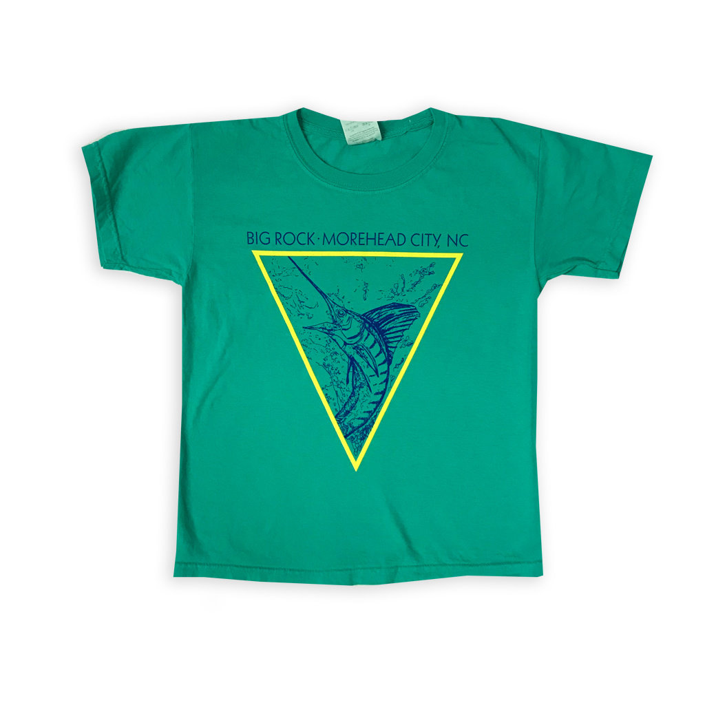 Big Rock Youth Diamond Fish T-Shirt