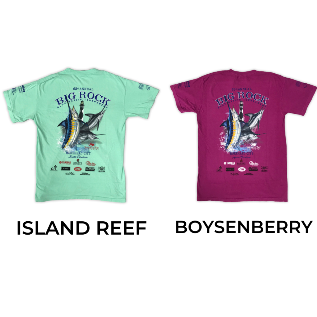 Big Rock 63rd Annual Short Sleeve T-Shirt W/ Pocket