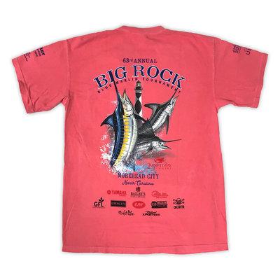 Big Rock 63rd Annual Short Sleeve T-Shirt No Pocket (7 Colors)