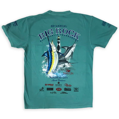 Big Rock 63rd Annual Short Sleeve T-Shirt W/ Pocket (8 Colors)
