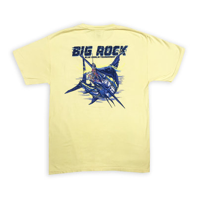Big Rock Blue With Lure Short Sleeve T-Shirt