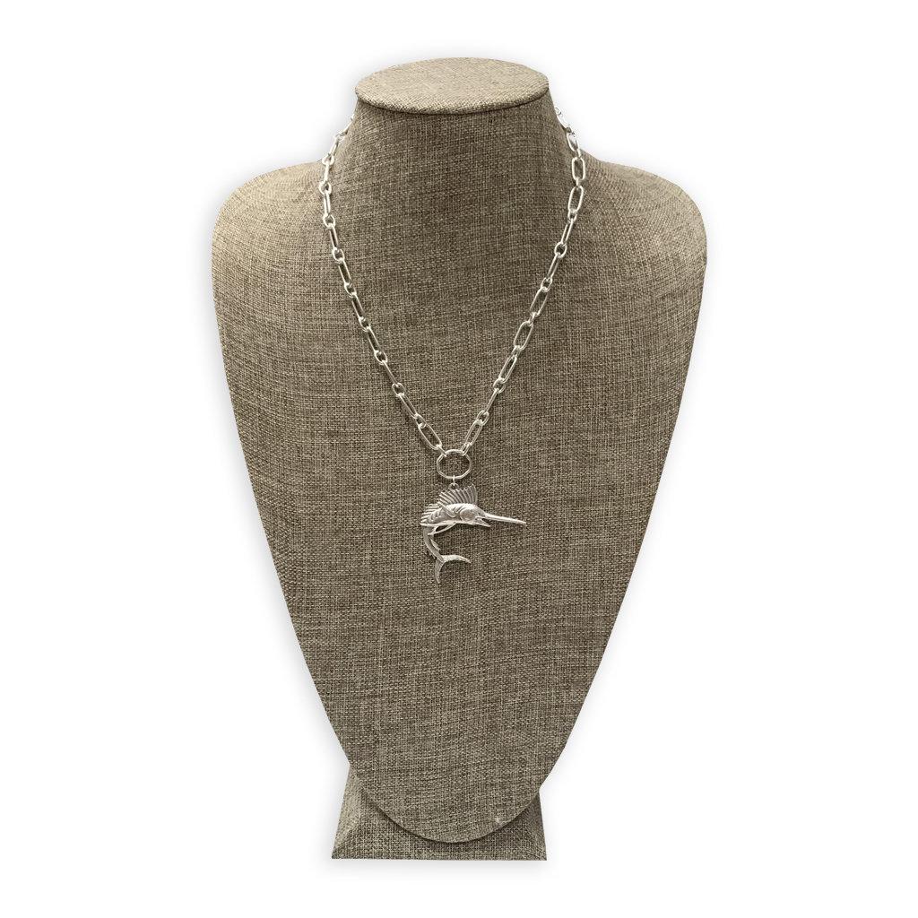 Big Rock Sailfish Necklace