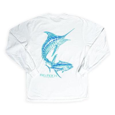 Big Rock Ghost  Marlin Long Sleeve T-Shirt