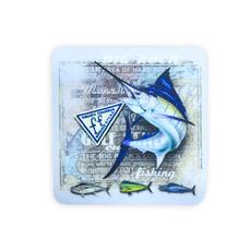 Big Rock Chalkboard Marlin Sticker