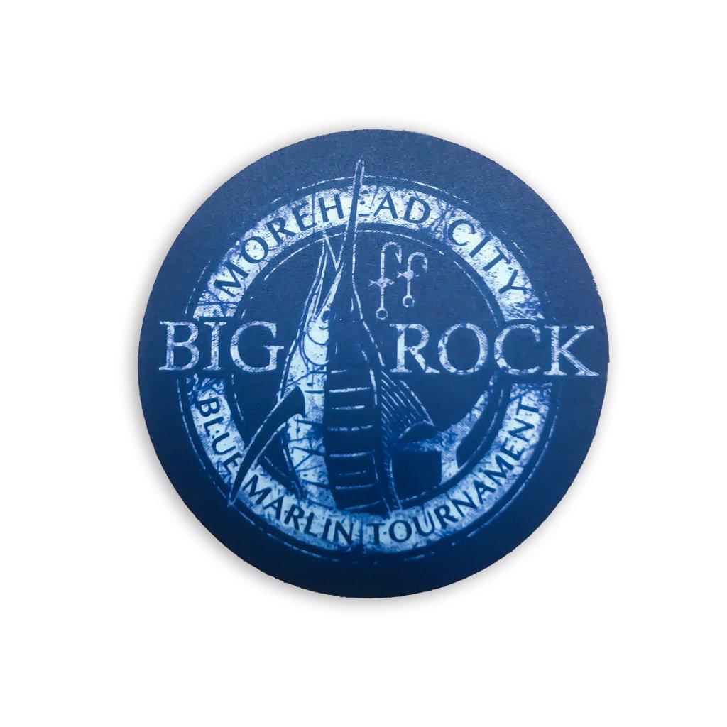 Big Rock Circle Banner Sticker