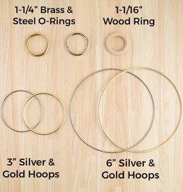 Paracord Planet Brass O Ring 1-1/4""