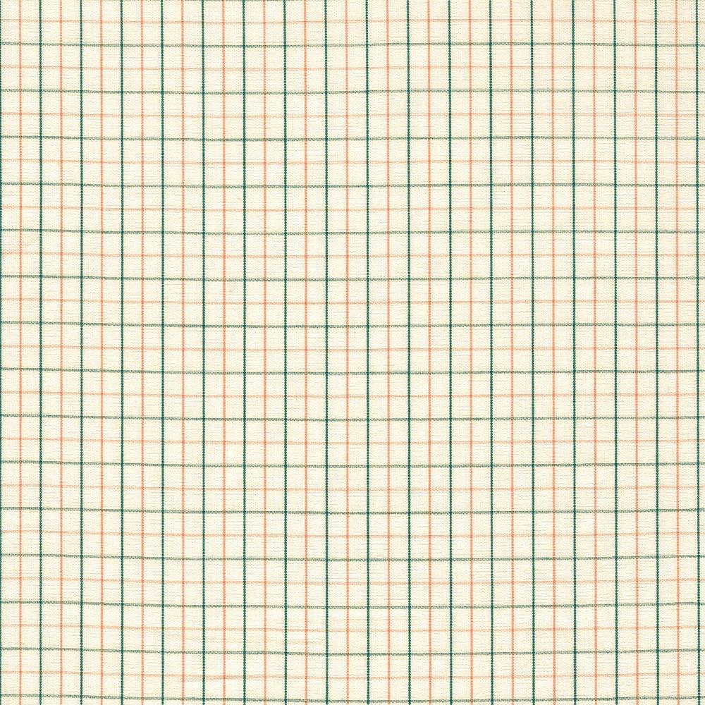 Carolyn Friedlander : Harriot : Willow Thin Check Yarn Dyed : 1/2 metre