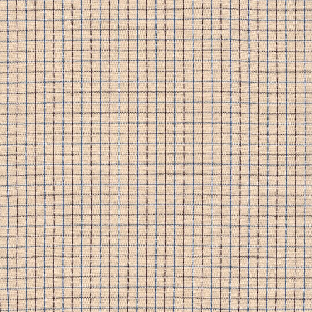 Carolyn Friedlander : Harriot : Lingerie Thin Check Yarn Dyed : 1/2 metre