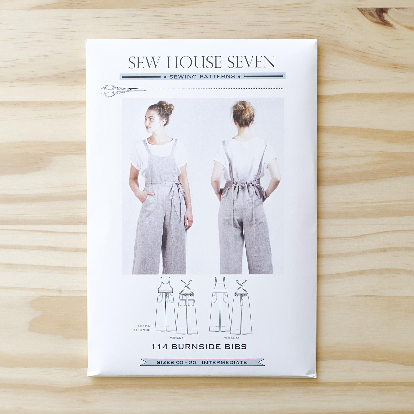 Sew House Seven : Sewing Pattern : Burnside Bibs
