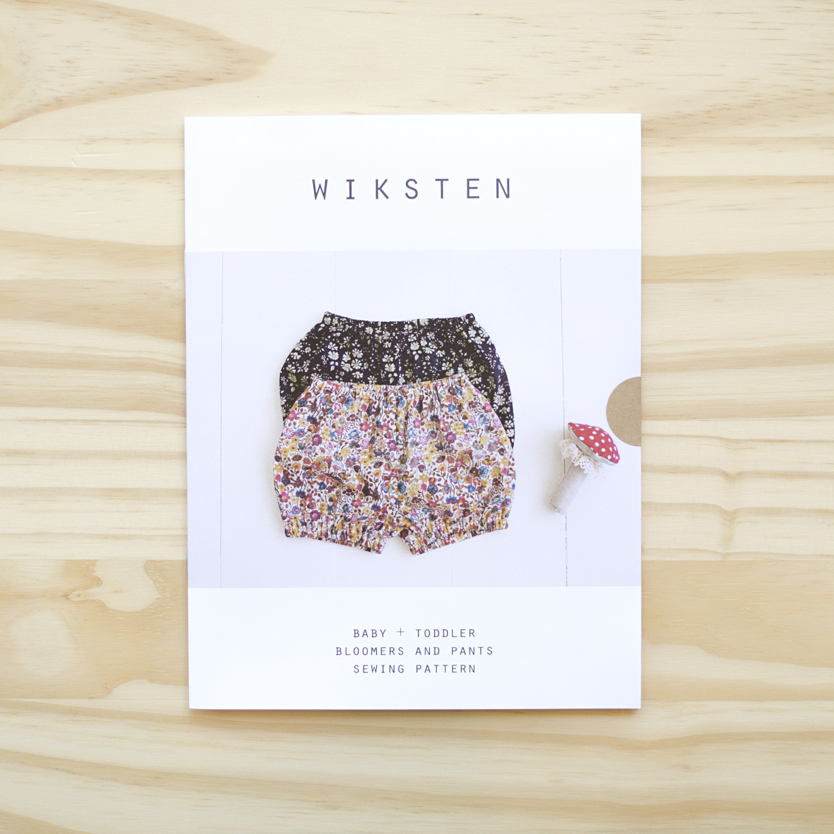 Wiksten : Sewing Pattern : Baby and Toddler Bloomers + Pants