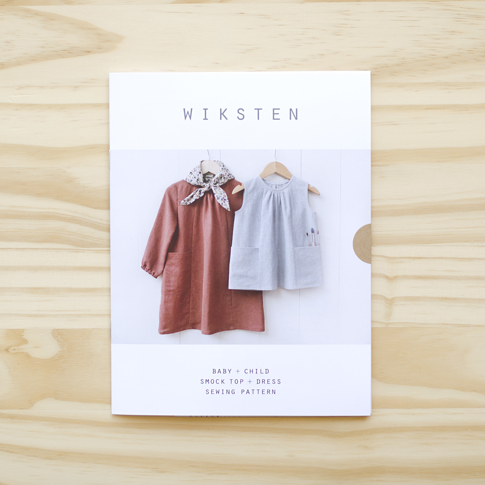 Wiksten : Sewing Pattern : Baby and Child Smock Top + Dress